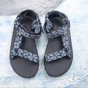 TEVA Inversion Blue/Black Sport Sandals Size 6